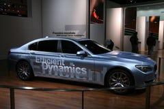 LECTEUR HYBRIDE DU CONCEPT 7 DE BMW Images stock