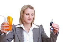 Lecteur ou boisson Image stock