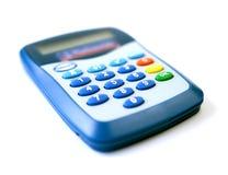 Lecteur par la carte de crédit en ligne Images stock