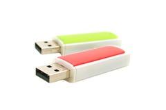 Lecteurs d'instantané d'USB Photographie stock