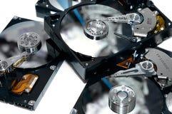Lecteurs de disque dur Images libres de droits
