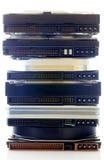 Lecteurs de disque dur Images stock