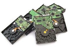 Lecteurs de disque dur Image libre de droits
