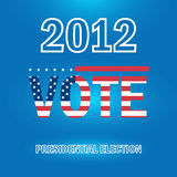 Élection présidentielle en 2012 Image libre de droits