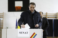 Élections Roumanie Photos stock