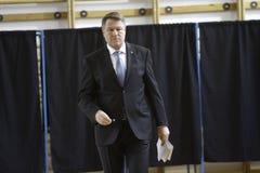 Élections Roumanie Klaus Iohannis Photos stock