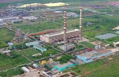 lectric σταθμός παραγωγής ηλεκτρικού ρεύματος στοκ εικόνες