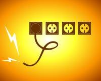 Électrique Image libre de droits
