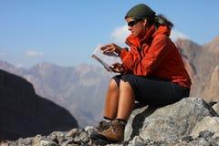 Lectura al aire libre Fotografía de archivo libre de regalías
