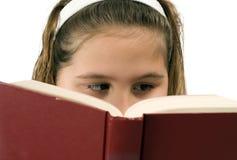 Lectura de la muchacha Fotografía de archivo
