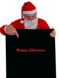 Lectura de Santa fotos de archivo libres de regalías