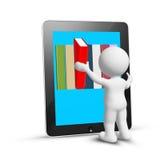 Lectura en línea Imágenes de archivo libres de regalías