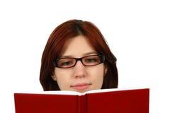 Lectura ocasional del estudiante Imagen de archivo