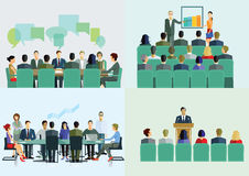 Lecture, course and seminar Royalty Free Stock Photo