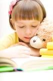 Lecture d'enfant Images stock