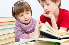 Lecture d'enfants Image stock