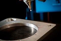 lecture du laser 3D Photos libres de droits