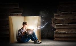 Lecture et imagination Photographie stock