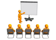 Lecture Flipchart Stock Images
