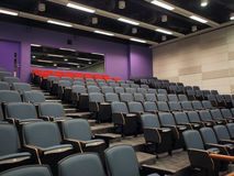 Lecture Hall. The modern style lecture hall in a university Stock Photos