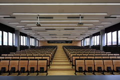 Lecture hall royalty free stock photo