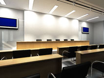 Lecture Hall. With modern decoration Royalty Free Stock Photos