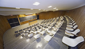 Lecture Hall. Interior view of a college lecture hall Royalty Free Stock Images