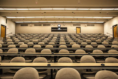 Lecture Hall Classroom stock photography
