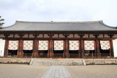 Lecture hall of Horyu ji in Nara Royalty Free Stock Photos