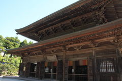 Lecture hall of Kencho ji in Kamakura, Japan Royalty Free Stock Photography