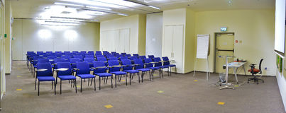 Lecture Hall. A modern high-tech lecture hall Stock Image