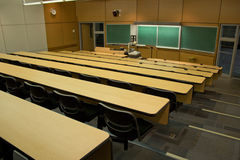 Lecture hall in university Stock Photo