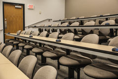 Lecture Hall. University Lecture Hall School Auditorium royalty free stock photos