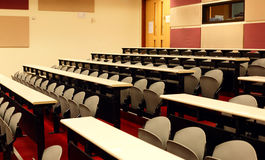 Lecture room Royalty Free Stock Image