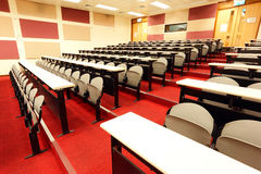 Lecture room. In the universtiy Stock Images