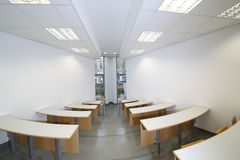 Lecture room Stock Photography