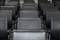 Lecture room with empty chairs Stock Image