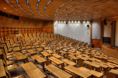 Lecture Room HDR Royalty Free Stock Photography