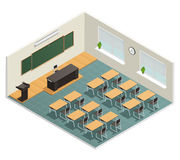 Lecture Room Interior Poster Stock Photos