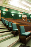 Lecture room seating Royalty Free Stock Photography