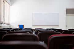 Lecture room of university Stock Photos