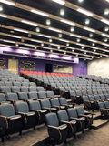 Lecture theater. Modern lecture theater interior in university Royalty Free Stock Image
