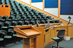 Lecture theater Royalty Free Stock Photo