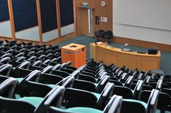 Lecture theater Stock Photography
