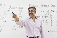 Lecturer Asking Questions Royalty Free Stock Image