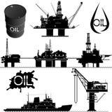 lecz to Siberia sektora ropy na zachód Obrazy Royalty Free