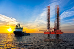 lecz to Siberia sektora ropy na zachód Fotografia Royalty Free
