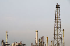 lecz to Siberia sektora ropy na zachód Zdjęcia Stock