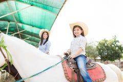 Lecznicza Horseback jazda zdjęcie stock