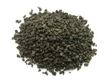 Lecznicza zielona herbata. obraz royalty free